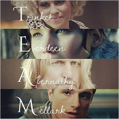 'We are a team; aren't we?' -Effie Trinket
