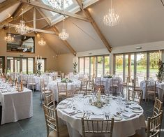 The Dining Barn at Blackwell Grange wedding venue in Warwickshire | CHWV
