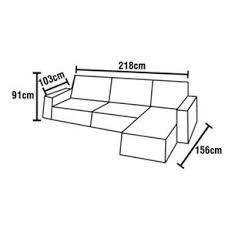 Resultado de imagem para medidas de sofa