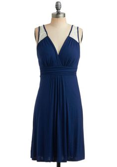 Dinner by the Falls Dress, Size M, is very stretchy can easily fit a med to a Large. Limited #ModCloth