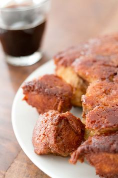 Monkey Bread recipe made with less sugar