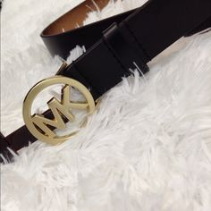 Michael Kors Logo Buckle Belt NWT NO TRADE Michael Kors Accessories Belts