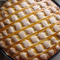 Dióhabos meggyes pite Recept képpel - Mindmegette.hu - Receptek