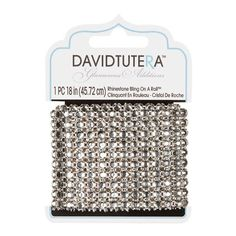 Bulk Buy: Darice DIY Crafts David Tutera Rhinestone Bling on a Roll 18 inches (3-Pack*) DT12090313 -- You can get more details by clicking on the image.