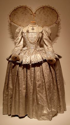 "Gown worn by Helen Mirren in the 2005 TV mini-series ""Elizabeth I."""