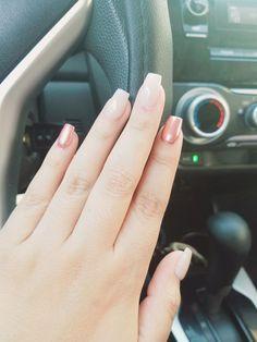 Espejo en rosa y nude. #nails #pink #nude #nicelook