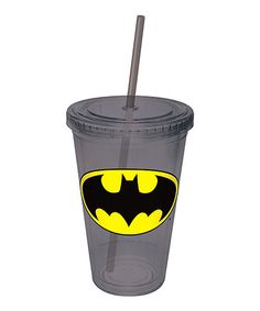 Take a look at this Batman Logo Tumbler by DC Comics on #zulily today!