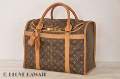 Louis Vuitton Monogram Sac Demi Souple 40 Travel Bag