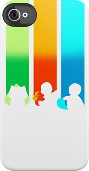 RGB: Bulbasaur, Charmander, Squirtle by lomm