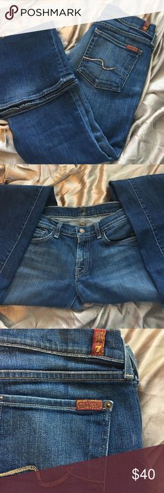 🎉sale🎉 7 for all mankind jeans 7 for all mankind bootleg jeans used 7 For All Mankind Jeans Boot Cut