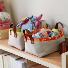 Fabric Storage Baskets