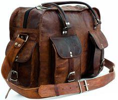 """Wenn es über das Wochenende nur kurz weggehen soll, dann ist """"Timothy"""" Dein perfekter Reisebegleiter - Reisetasche - Weekender - Gusti Leder - R35b"""