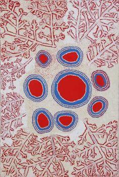 Simon Hogan, Paltju, 2012, 126 x 90 cm., acrylic on linen. Outstation Gallery.