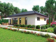 Bungalow Comfort 113 W • Bungalow von HARTL Haus • Individuelles Massivhaus mit großen Fensterflächen im Süden und offener Wohnküche • Jetzt bei Musterhaus.net informieren!