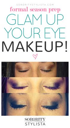 Glam Up Your… Makeup! #makeup #AlphaSigmaAlpha #PennState #sororitystylista