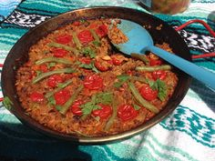 An Unplanned Paella at the Food Bloggers Picnic | Blog Appetit