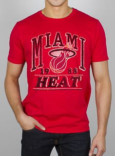 "B1178-7730 ""NBA Miami Heat Champion Tee"""