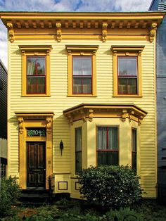 Italianate Architecture and its History #yellow #house #architecture