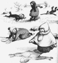 Little House in the Big Woods Garth Williams Illustrations Winter Illustration, Children's Book Illustration, Book Illustrations, Garth Williams, Laura Ingalls Wilder, Children's Literature, House In The Woods, Vintage Children, Childrens Books