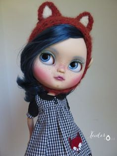RESERVEDOOAK Custom icy doll art dollCloe by by XeiderDolls