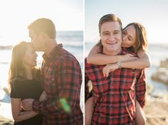 Alicia and Andy's sweetly simple engagement session on Windansea Beach in San Diego, California. Photos by: Studio Sequoia Beach Engagement Photos, Engagement Session, San Diego Beach, La Jolla, California, Wedding Ideas, Couple Photos, Studio, Couples