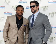 randall cobb. aaron rodgers....stylin' men  Toooo Cool:)
