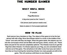 "Hunger Games ""game"""