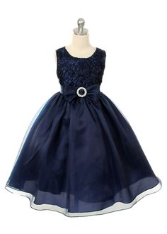 navy flower girl dress, Breanna would look adorable in this
