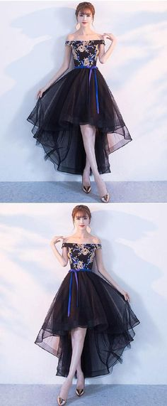 63827cd05c7 Discount Beautiful Lace Black Prom Dresses