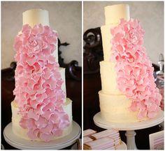 a rose rose cake