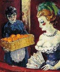 Kees van Dongen - Femme Et Vendeuse D'Oranges