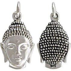Testa di Buddha in argento 925, Ciondolo. - Balinesia gioielli & fashion http://www.balinesia.it/Testa-di-Buddha-in-argento-925onzo-Ciondolo