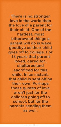 Daughter Coming Home From College Quotes Quotes