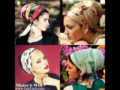 How To Tie Your Tichel, Head Cover, Hijab, Sinar Tichel & More! - YouTube