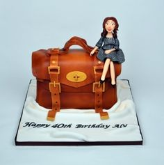 Mulberry Handbag cake By Suziebcakes on CakeCentral.com