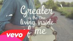 """MercyMe - Greater (Official Lyric Video) Every day, I wrestle with the voices that keep telling me, """"I'm not right"""", but that's alright..."""