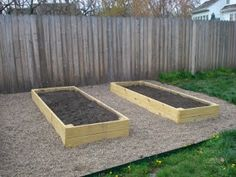Raised garden beds with chicken wire underneath to prevent gophers, gravel or mulch in the walkways (then no worries about cutting the grass), and the entire section first lined with tons of newspapers to keep the grass from growing through from below :)