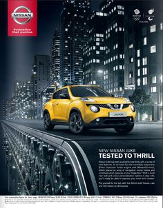 New Nissan, Nissan Juke, Car Brochure, Car Posters, Car Camera, Motorcycle Design, Print Advertising, Ad Design, Photo Manipulation