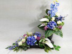 Grave Flowers, Funeral Flowers, Black Flowers, Floral Arrangements, Floral Wreath, Wreaths, Home Decor, Beautiful Flower Arrangements, Beautiful Flowers