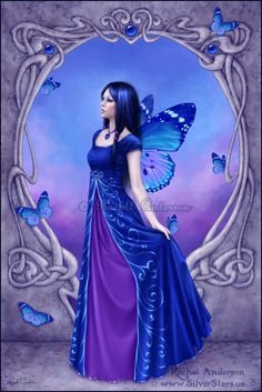 Birthstones - Sapphire  by Rachel Anderson