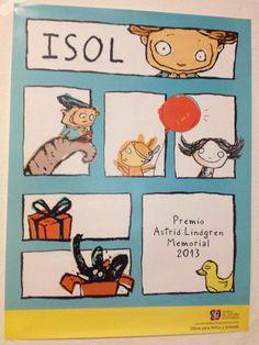 Cartel que FCE regala a Isol (2013)