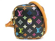 #LouisVuitton Rift Shoulder Bag Monogram Multicolor Noir M40056 (BF068197). Authenticity guaranteed, free shipping worldwide & 14 days return policy. Shop more #preloved brand items at #eLADY: http://global.elady.com