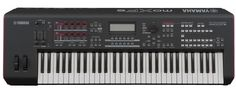 Yamaha MOXF6 61 Key Synthesizer Workstation Keyboard