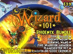 check out the phoenix bundle from wizard 101
