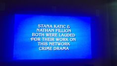 """Stana Katic on Twitter: """"""""What is @.Jeopardy ?""""... Milestones in an actor's life.  #Castle"""""""