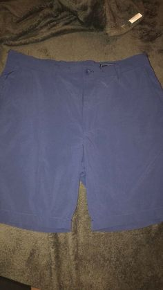 9908b142 Vineyard Vines Men's Chinos Club Shorts Solid Light Blue Size 34 Condition  is Pre-owned.