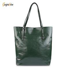 fd458fc03f Simple Style Pure Color Waterproof Women Handbags Shopper Bag Shopper Bag