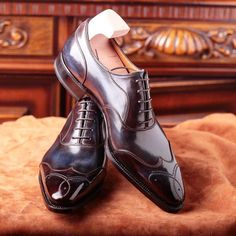 #Meccariello #argentum handwelted line. A stylized #wingtip #oxfordshoes  with…