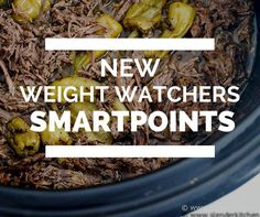 New Weight Watchers SmartPoints® Program