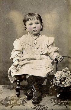 vintage little girl...
